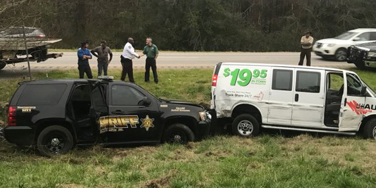 Authorities led on high speed chase involving stolen U-Haul