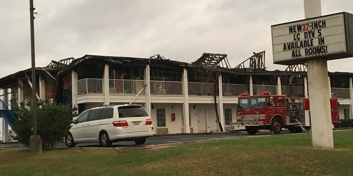 Officials: Greenville's Baymont Inn & Suites was closed at time of fire