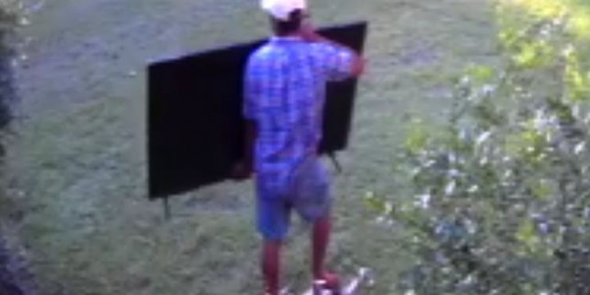 Suspect wanted for Montgomery burglary captured on video