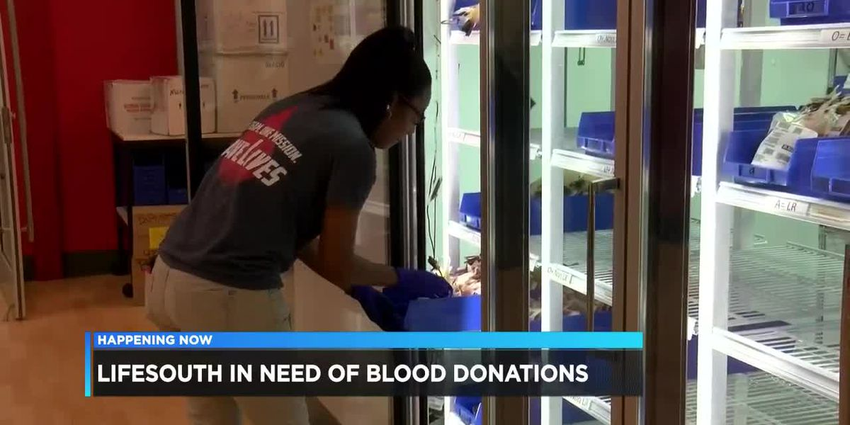Blood donations in short supply during summer months