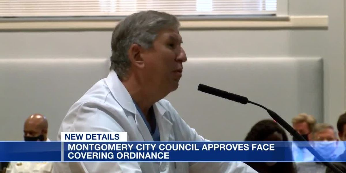 Montgomery City Council passes new mask ordinance