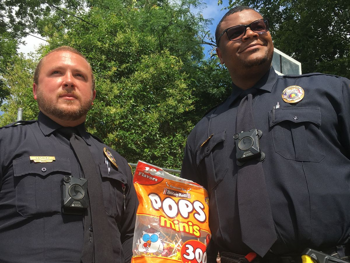 Alex City policeman starts Lollipops With Cops