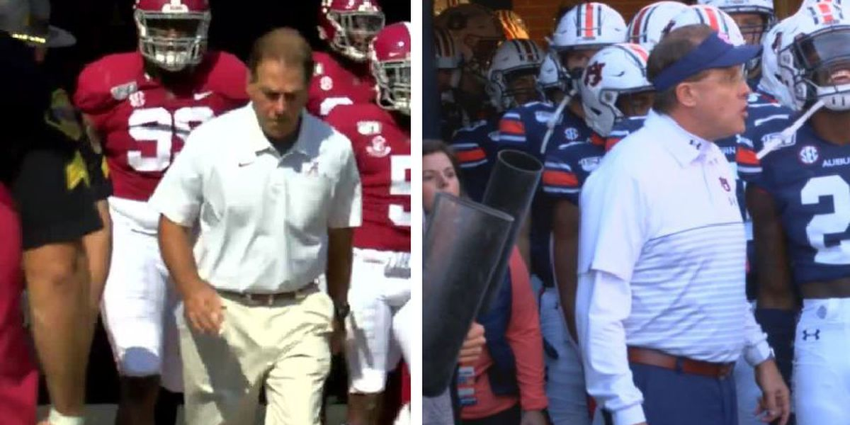 Alabama and Auburn heading to the Sunshine State for bowl games