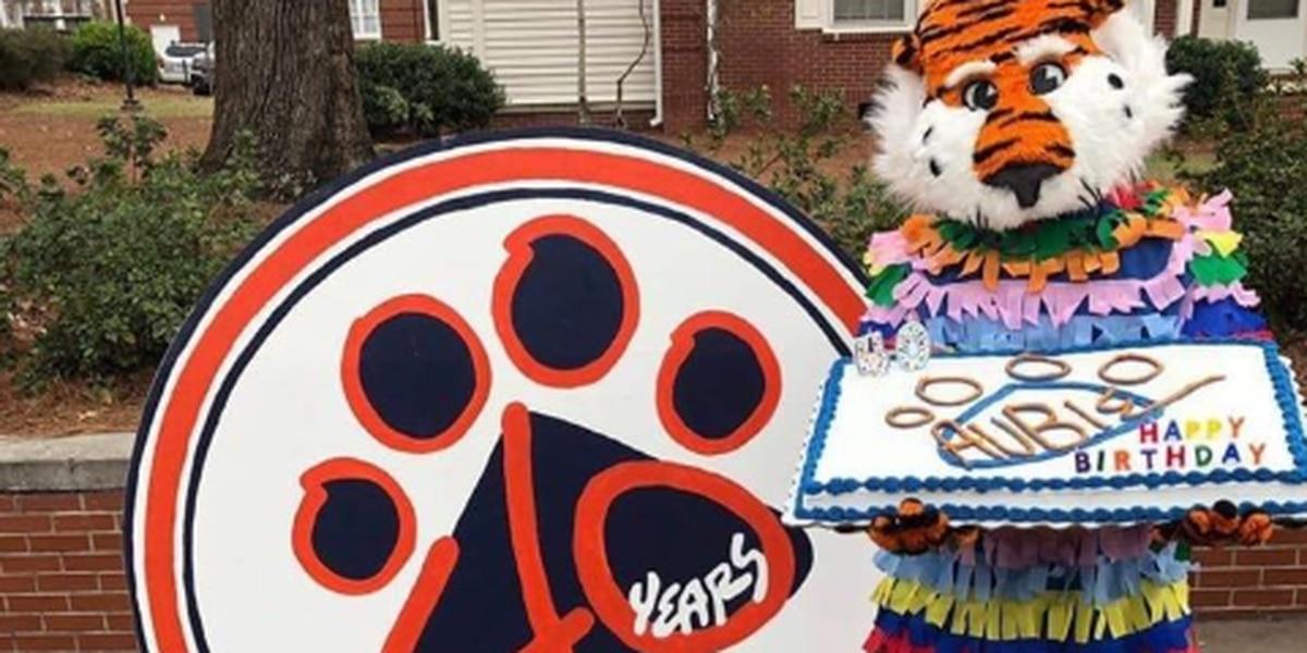 AU's Aubie the Tiger celebrates 40th birthday