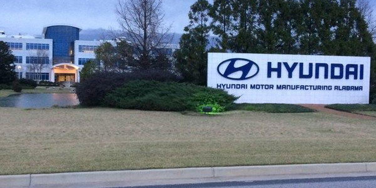 Hyundai Motor Manufacturing Alabama cuts some production days