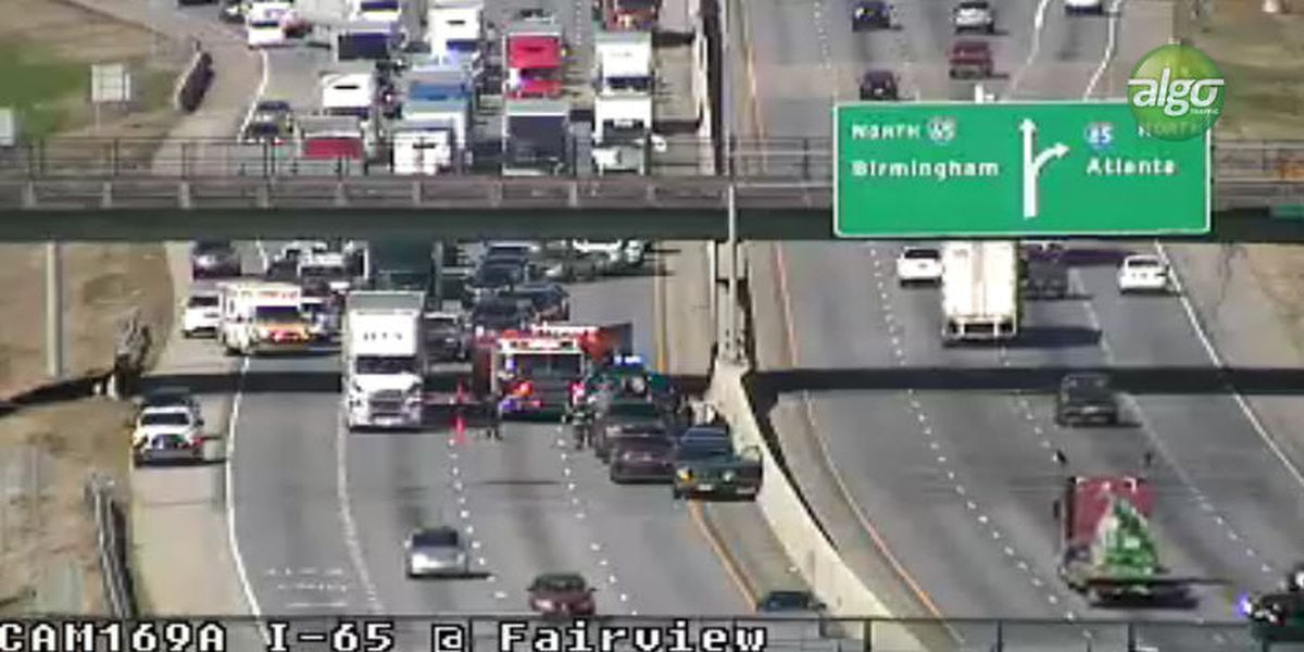 Traffic clear on I-65 SB near Montgomery's Early Street after crash
