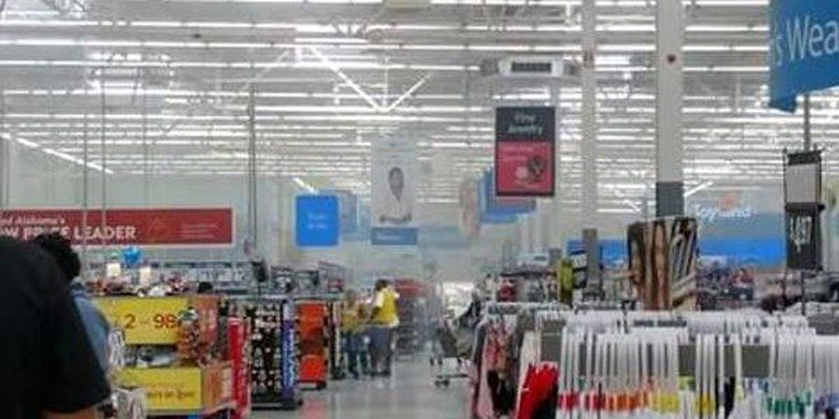 Greenville Walmart back to normal hours after fire