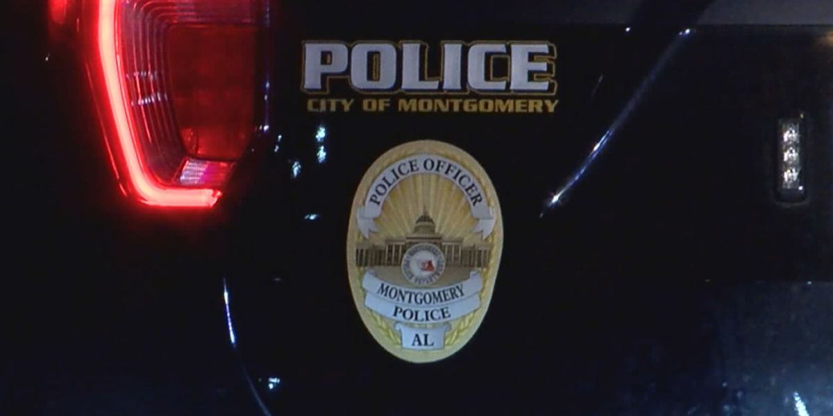 Montgomery police unit among vehicles hit by gunfire