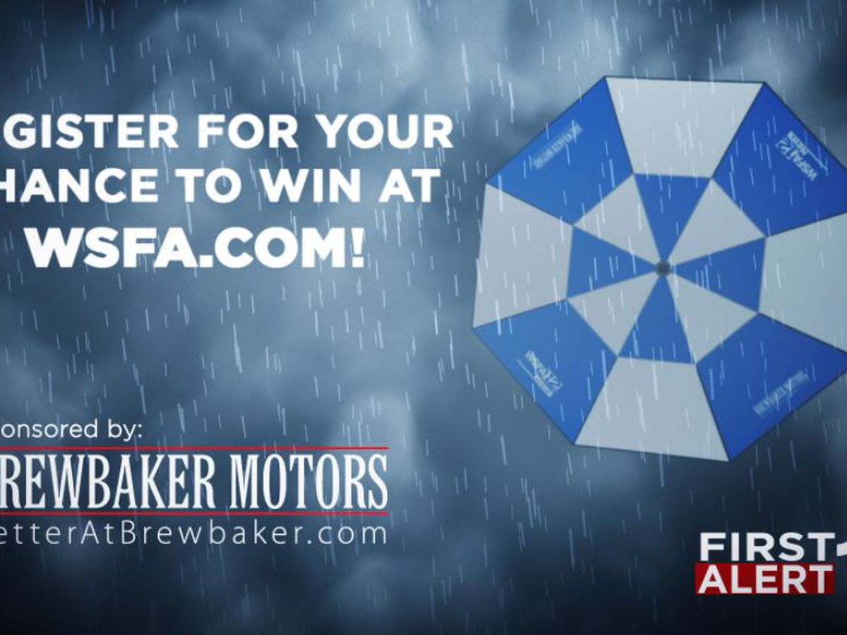 WSFA 12 News and Brewbaker Motors Umbrella Contest