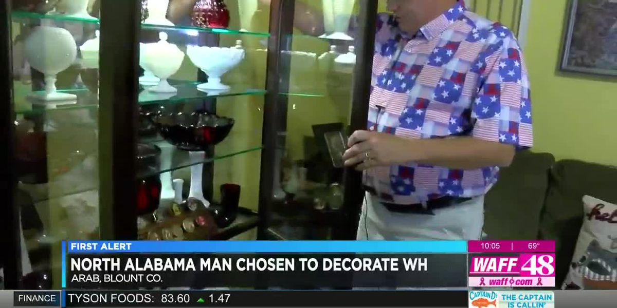 North Alabama man chosen to decorate the White House
