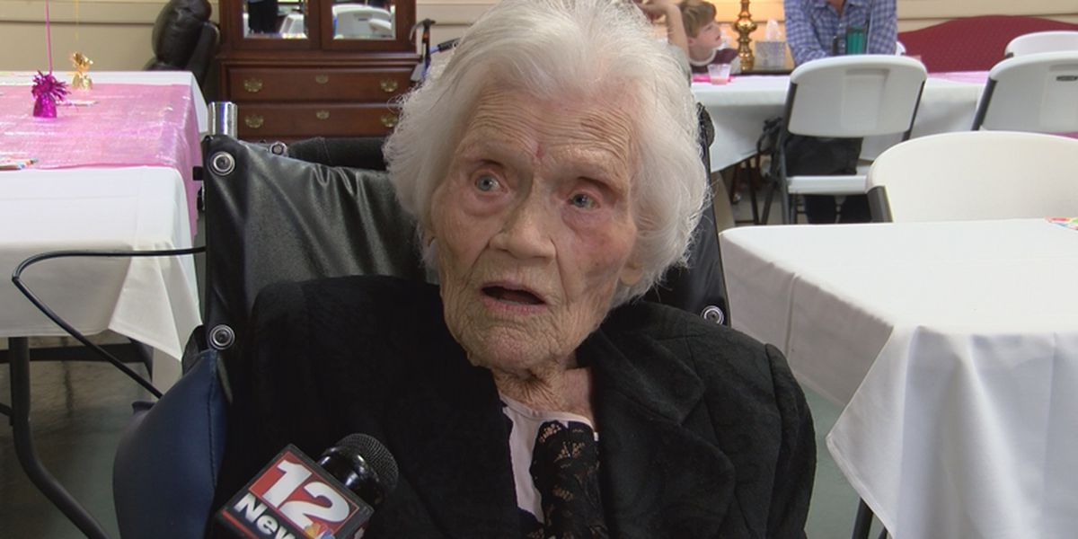 Montgomery woman celebrates 107th birthday!