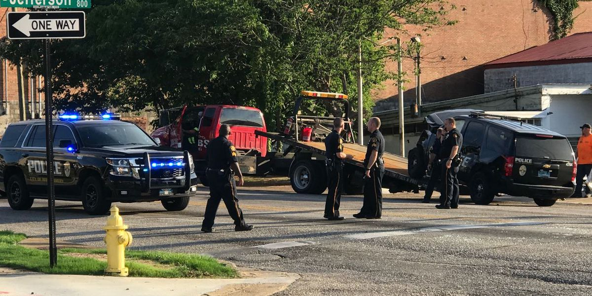 MPD unit involved in crash with minor injuries