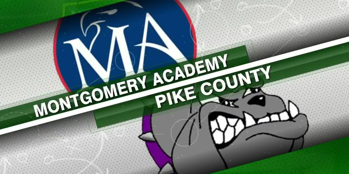 Second round of playoffs: Montgomery Academy vs. Pike County