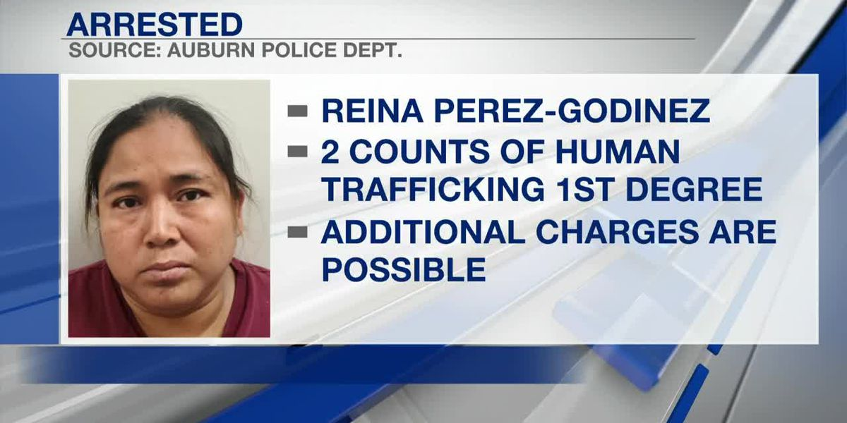 Auburn police arrest woman on human trafficking charges