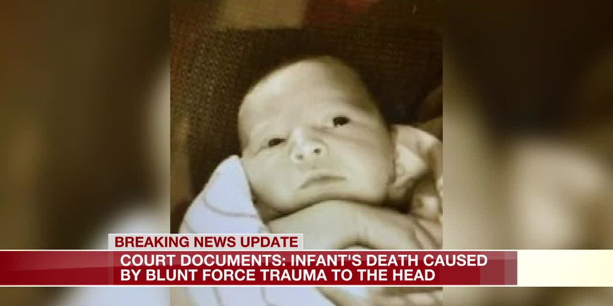 Court documents: Infant's death caused by blunt force trauma to head