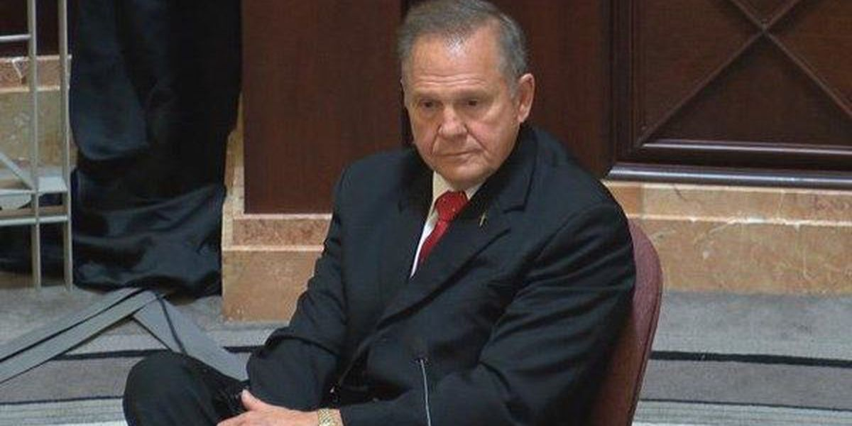 AL Chief Justice Roy Moore suspended for rest of term effective immediately