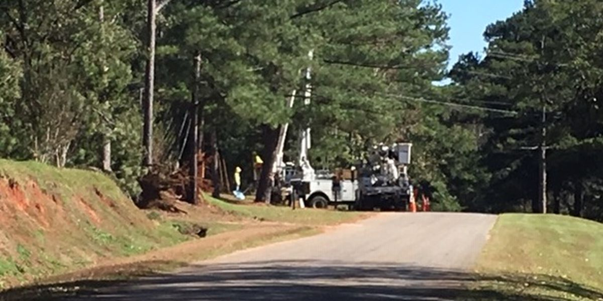 Crews working to restore power in Perry County