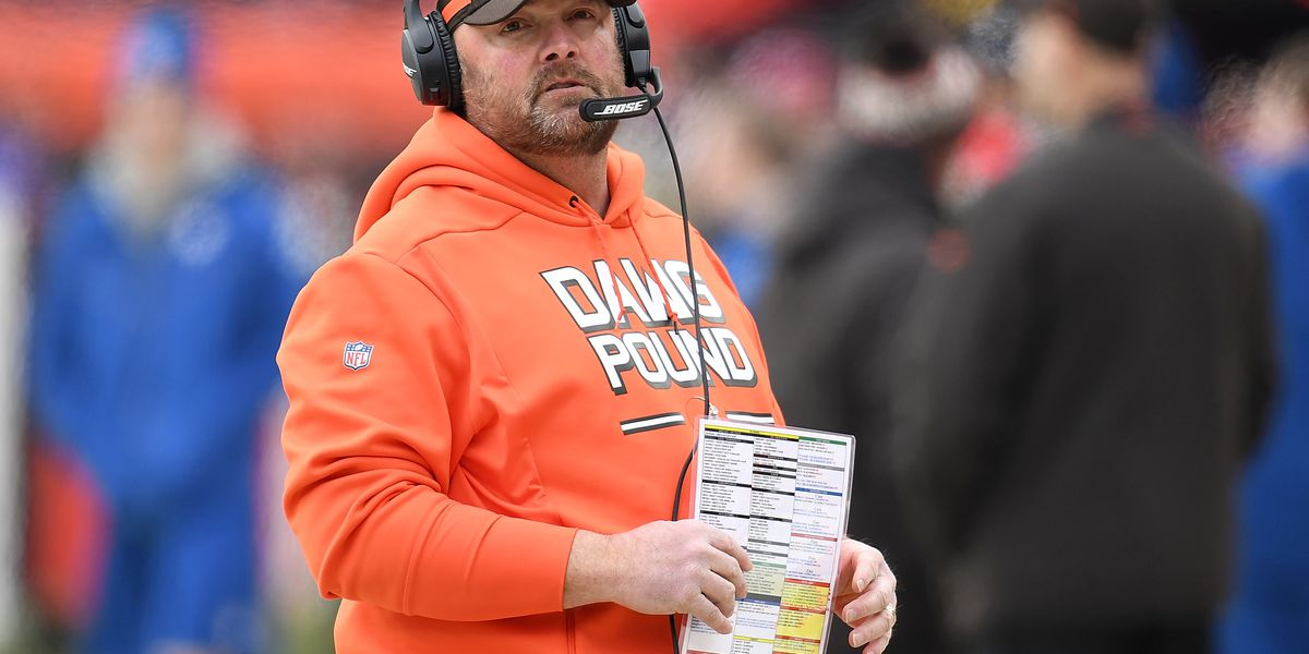 AP source: Browns pick coordinator Kitchens as next coach
