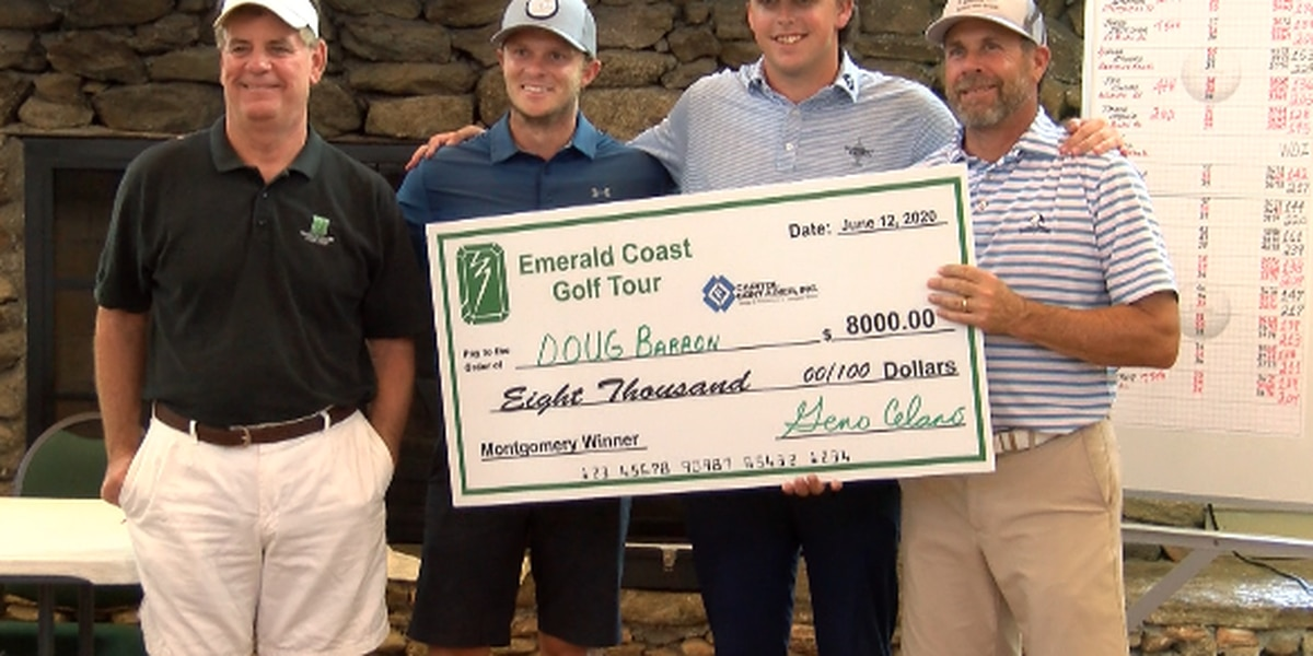 Barron outlasts Crowe to win Emerald Coast Golf Tour tournament in Montgomery
