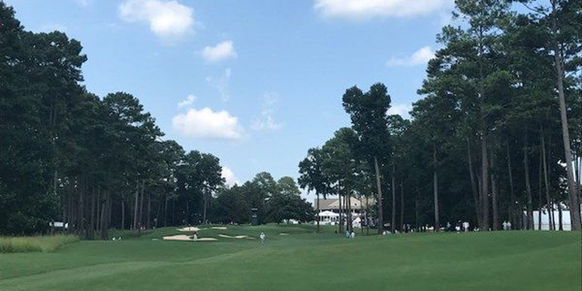 Weather forcing some to finish first round early Friday at Barbasol