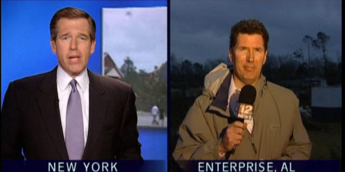 WSFA reporter Bryan Henry recalls hours of reporting on Enterprise tornado
