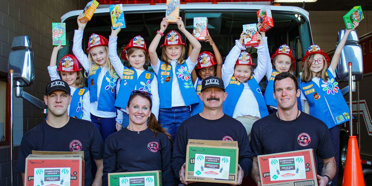 Girl Scouts launch 'Hometown Heroes' supporting frontline workers