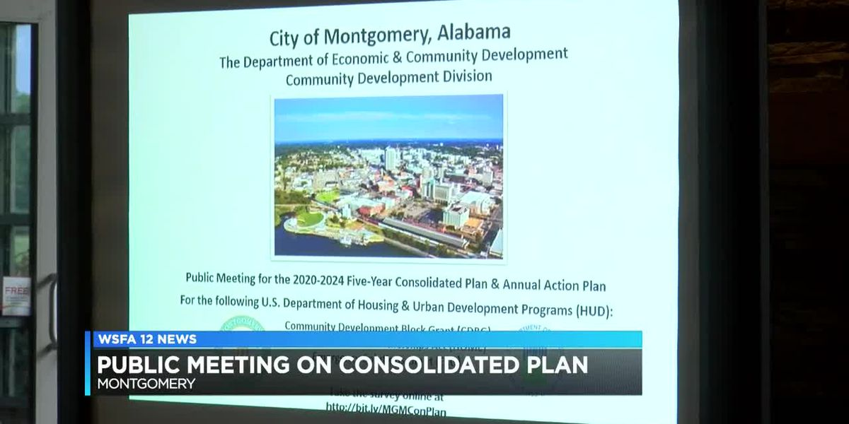 Public meeting held on 2020-2024 consolidated plan