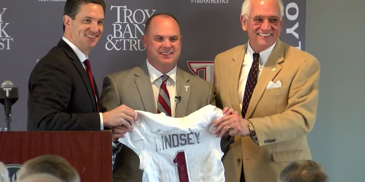 Troy introduces head football coach Chip Lindsey