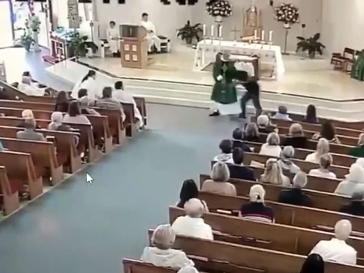 Florida man attacks deacon during church service