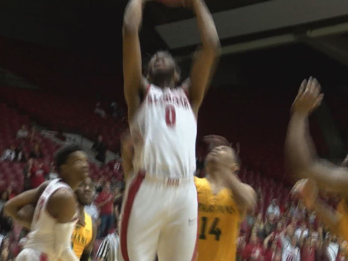 Jamerson carries Norfolk St. past Alabama 80-79 in OT in NIT
