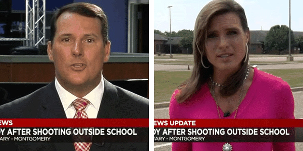 WSFA's Judd and Bethany Davis react to shooting at child's school