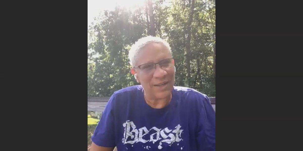 Former Auburn professor goes viral for trick shot