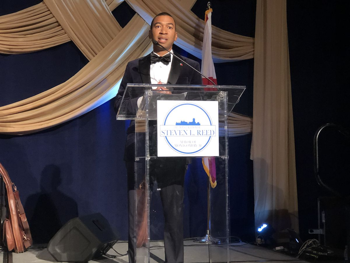 Reed inauguration gala wraps up day of celebration
