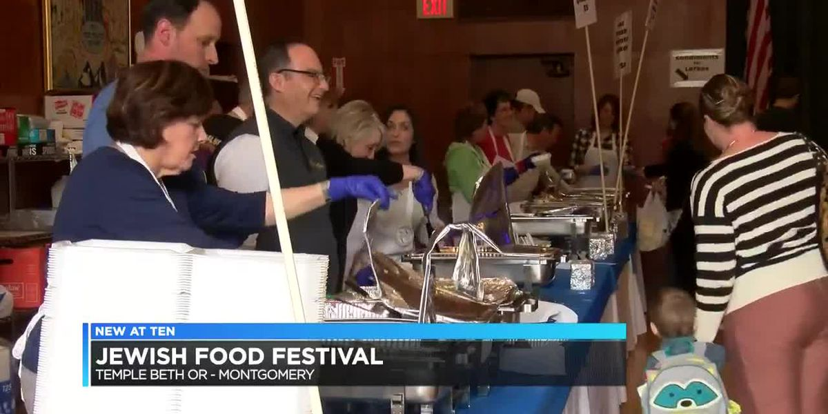 Annual Jewish Food Festival held Sunday in Montgomery