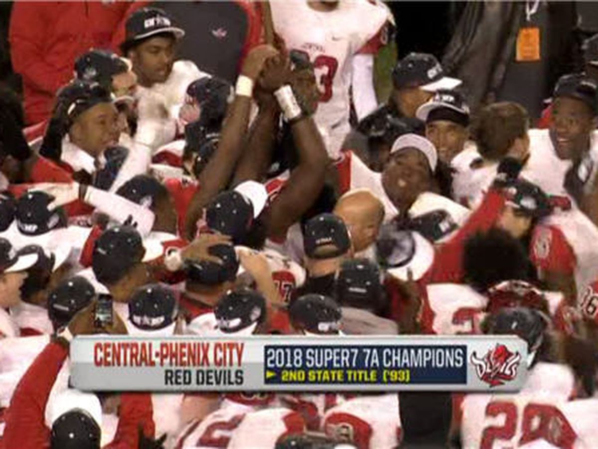 Central-Phenix City captures first title since 1993