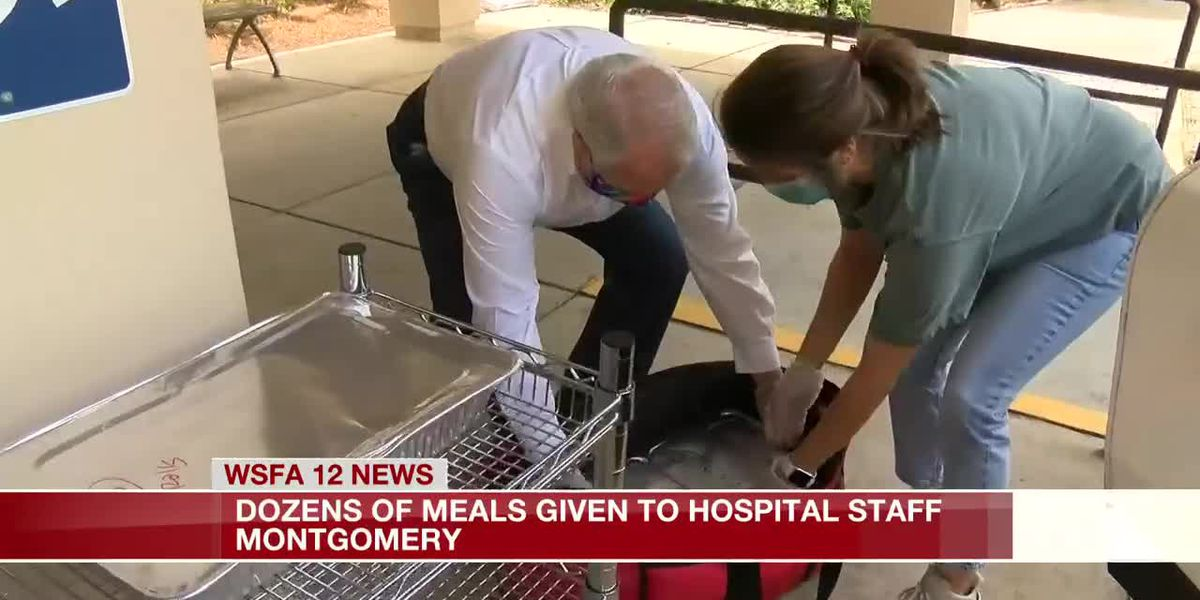 Dozens of meals given to hospital staff in Montgomery