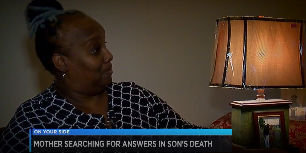 Mother's Day is the anniversary of her son's death, and she's still searching for answers