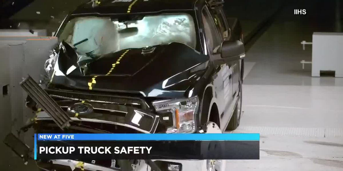 New recommendations and safety ratings for pickup trucks