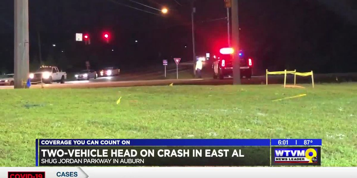 UPDATE: Auburn 20-year-old dies in late-night crash on Shug Jordan Pkwy.