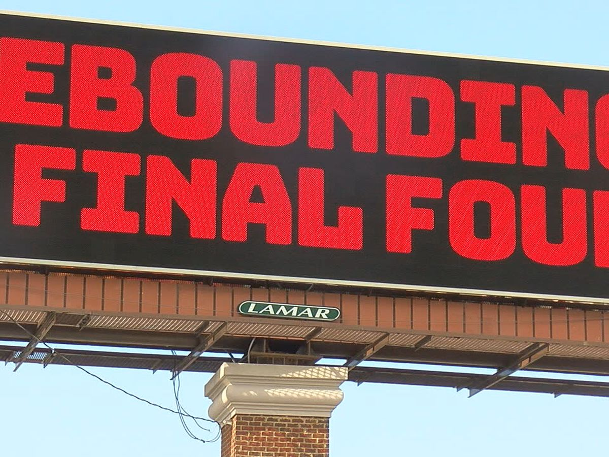 Alabama fan buys 'rebound' billboard to motivate Tide basketball team