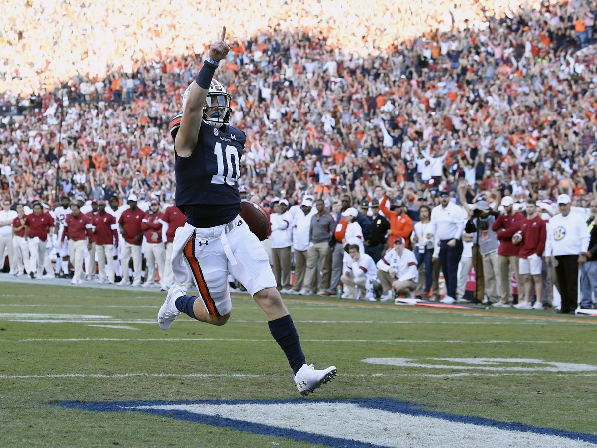 SEC fines Auburn $250K for fans rushing field after Iron Bowl