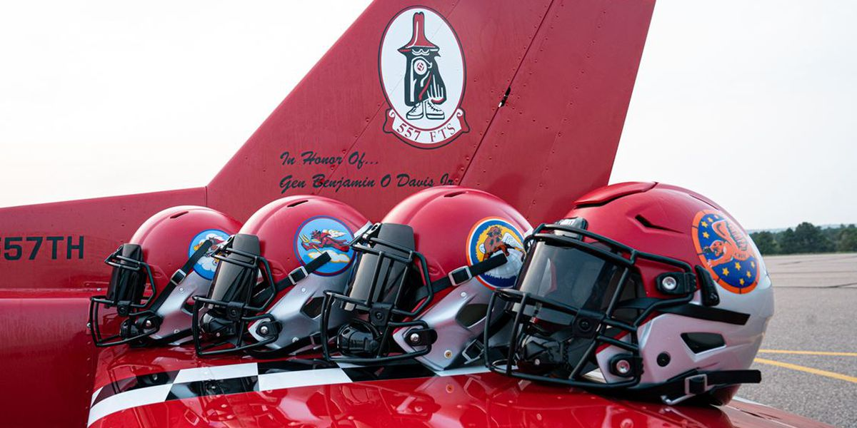 Air Force football uniforms to honor Tuskegee Airman for season opener