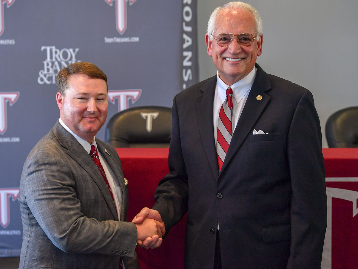 Troy names new athletics director