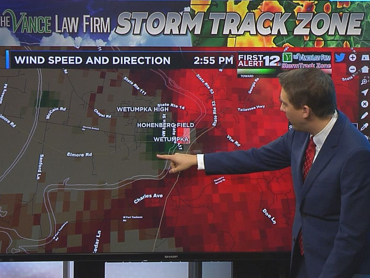 Lightning strikes home of WSFA meteorologist