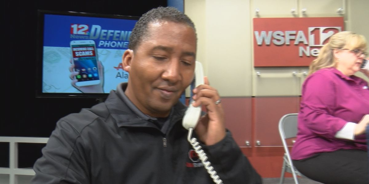 Over 200 call in to WSFA 12 News Defenders phone bank