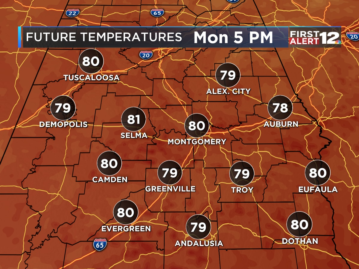 FIRST ALERT: Monday Sunshine!
