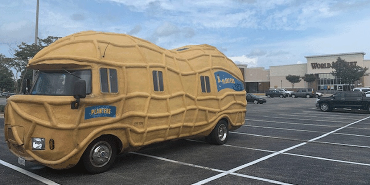 Planters Peanut 'NUTmobile' rolls into Montgomery