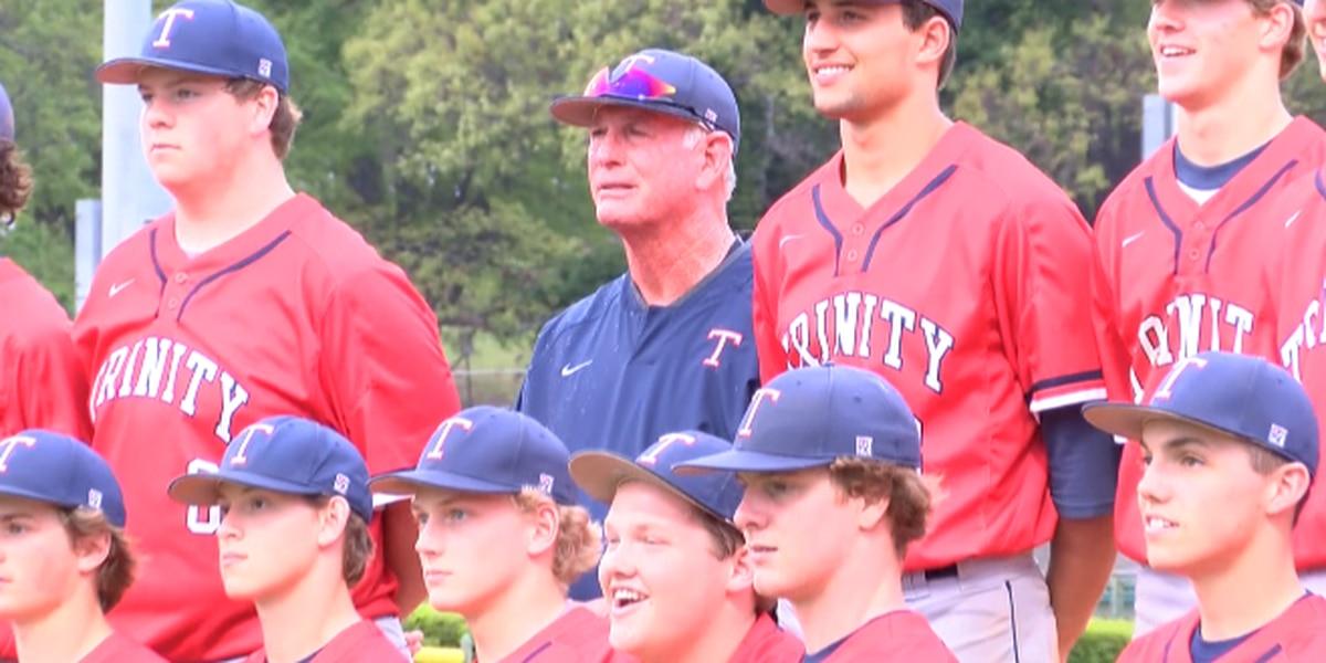 Longtime Trinity Presbyterian baseball coach Ken Whittle announces retirement