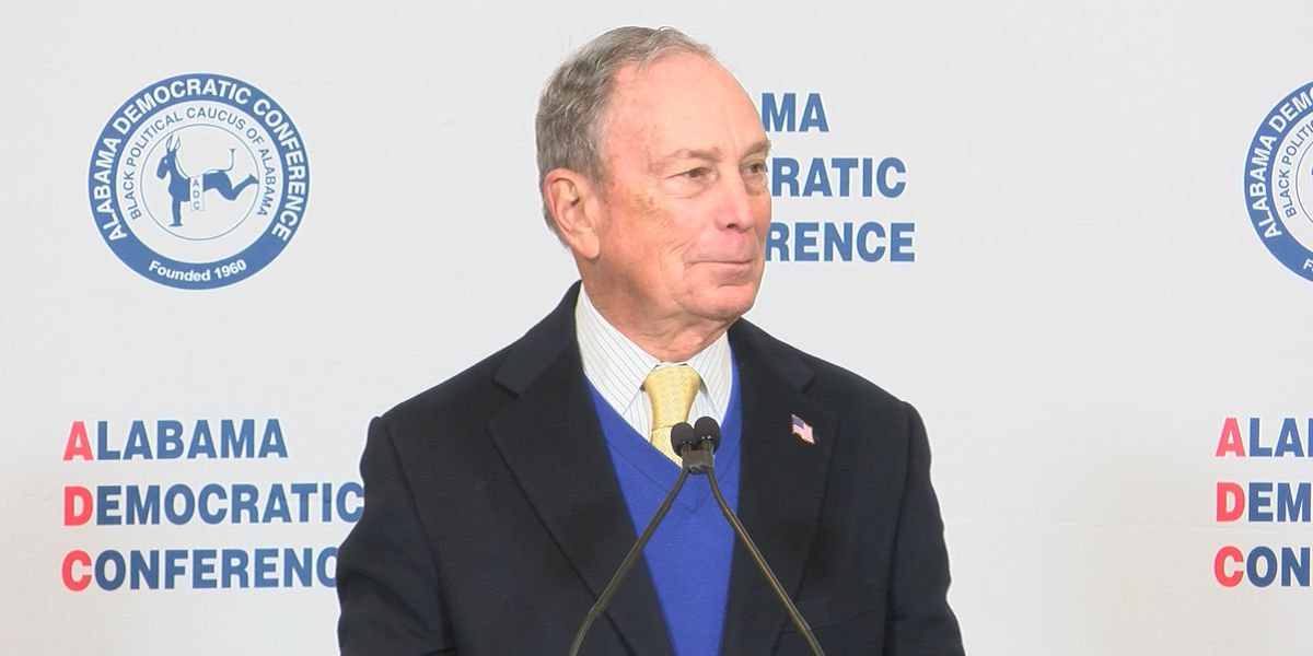 Mike Bloomberg makes campaign stop in Montgomery
