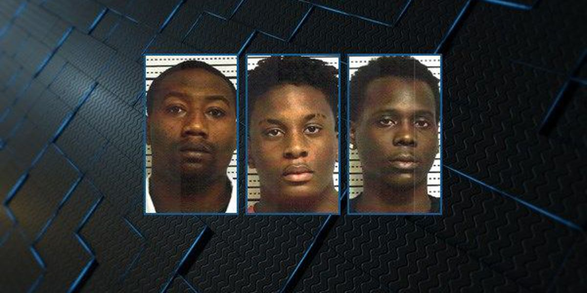 4 charged in brawl, shooting outside Eufaula gas station